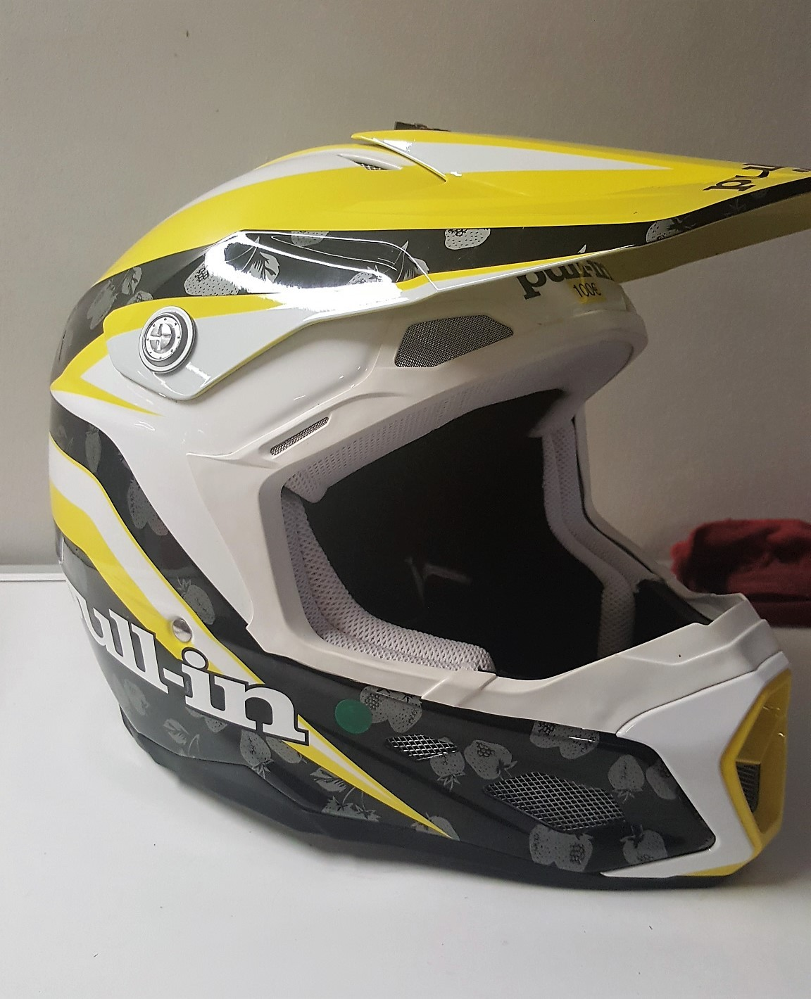 Casque Pull IN Race Jaune Taille XXL