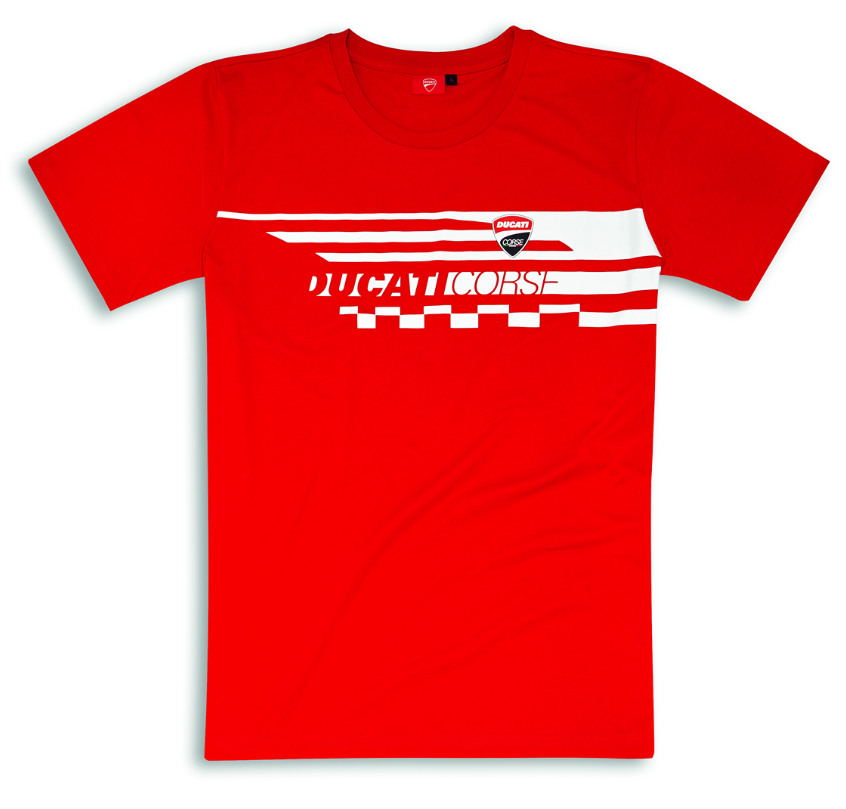 T shirt DUCATI CHECK Taille S