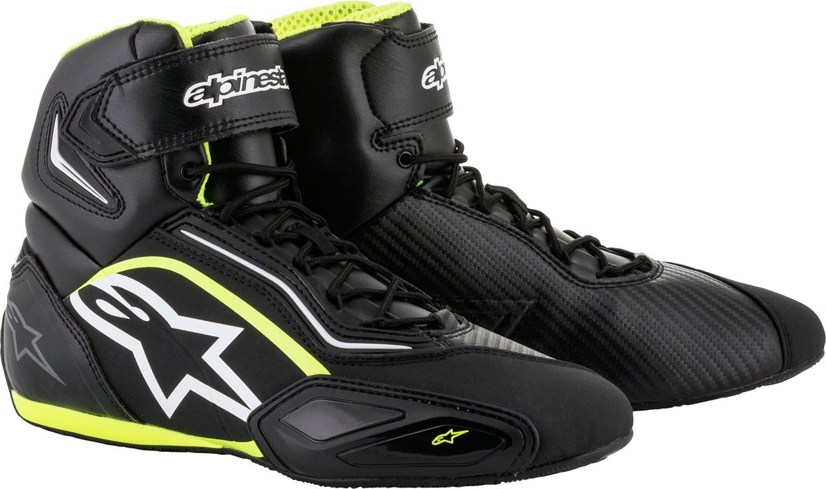 Bottines ALPINESTARS Faster 2 Black and Yellow  TAILLE 44
